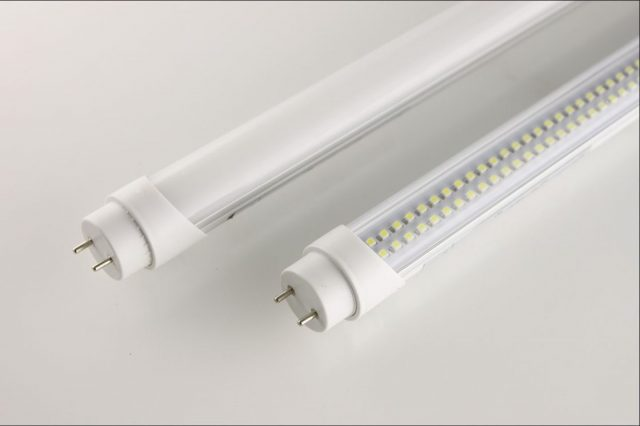 Remove old fluorescent lights