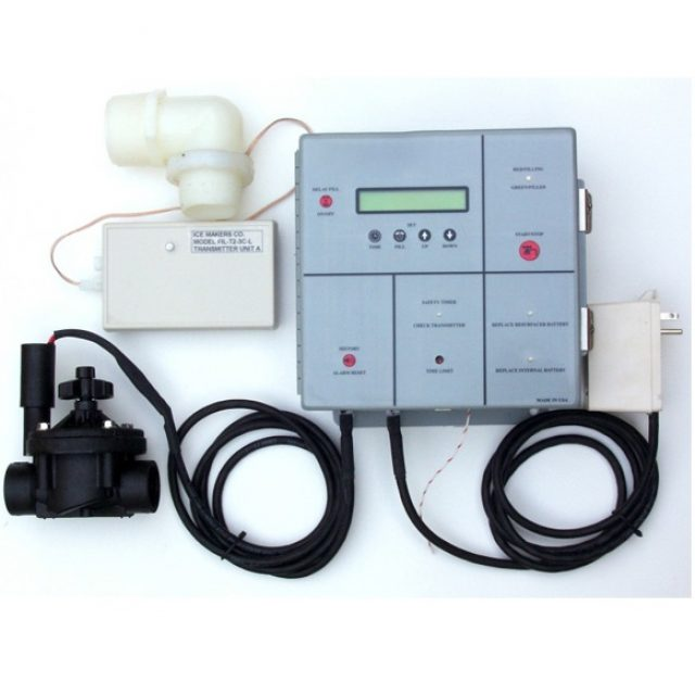 Install automatic resurfacer water fill